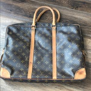 Louis Vuitton Monogram Briefcase # 78